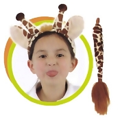 Giraffe Ears and Tail